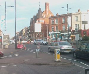 Road work Lavender Hill-Falcon Lane