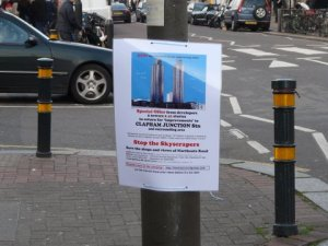 Stop the skyscrapers - road - credit: Julia Matcham