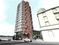 Hotel proposal - sketch 1