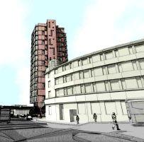 Hotel proposal - sketch 2